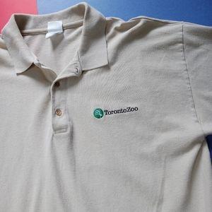 Modern Toronto Zoo Promo Embroidered Polo Shirt